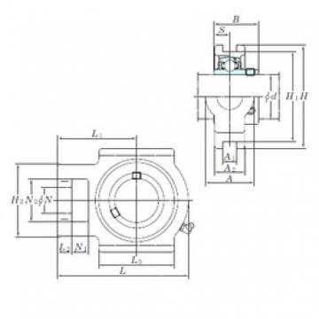 KOYO UCT207-21E bearing units