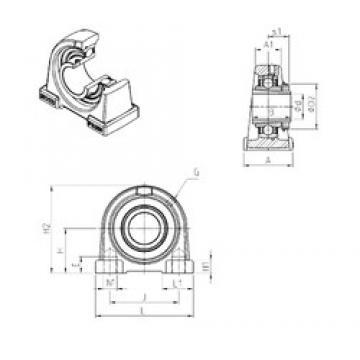 SNR UKPAE210H bearing units
