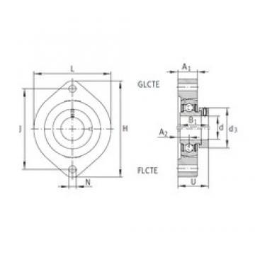 INA FLCTE20 bearing units