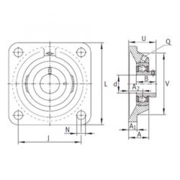INA PCJY25-N bearing units