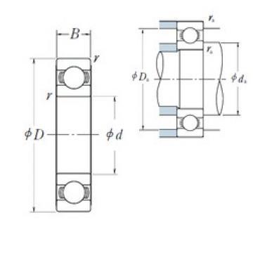 300 mm x 540 mm x 85 mm  NSK 6260 deep groove ball bearings