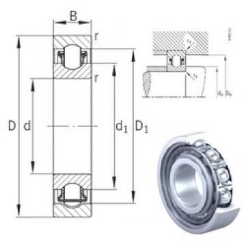40 mm x 90 mm x 23 mm  INA BXRE308 needle roller bearings