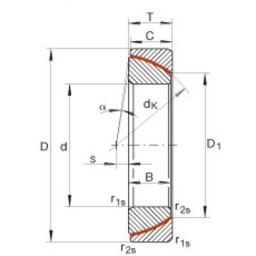 INA GE180-SW plain bearings