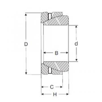28 mm x 52 mm x 15 mm  SIGMA GE 28 SX plain bearings