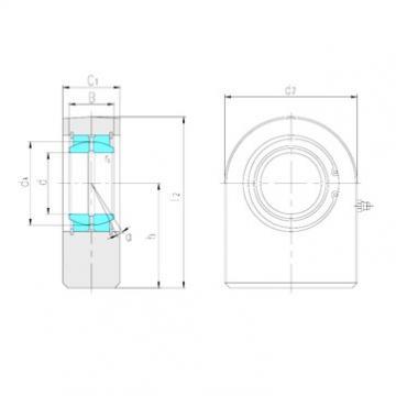LS SF15ES plain bearings