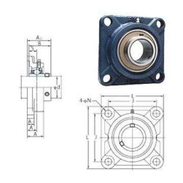 FYH UCF204 bearing units