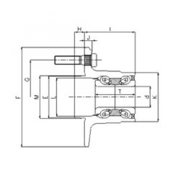 ILJIN IJ112020 angular contact ball bearings