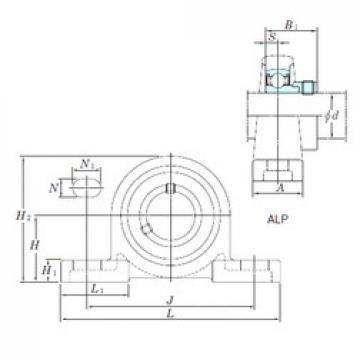 KOYO ALP208-24 bearing units