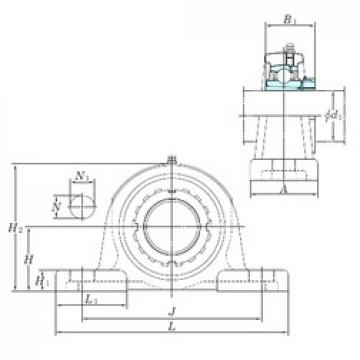 KOYO UKP328 bearing units