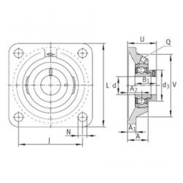 INA PCJ20-N bearing units