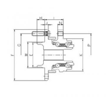 ILJIN IJ133006 angular contact ball bearings