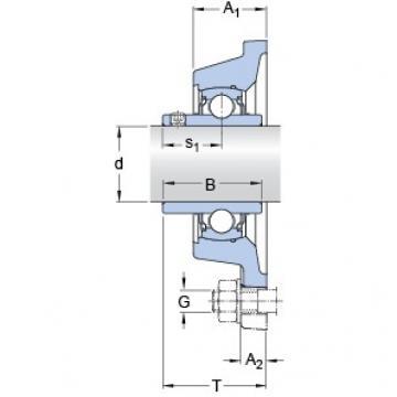 SKF FY 1.7/16 TF/VA201 bearing units