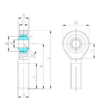 LS SA80ET-2RS plain bearings