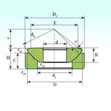 35 mm x 84 mm x 22 mm  ISB GX 35 CP plain bearings