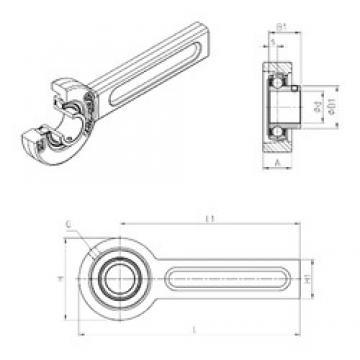 SNR USSP202 bearing units