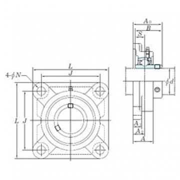 KOYO UCF209-26 bearing units