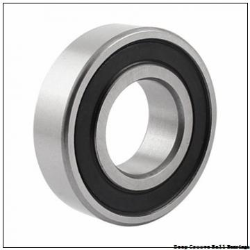 139,7 mm x 152,4 mm x 6,35 mm  KOYO KAC055 deep groove ball bearings
