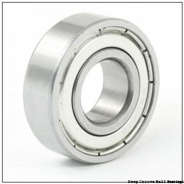 80 mm x 170 mm x 39 mm  NACHI 6316NR deep groove ball bearings