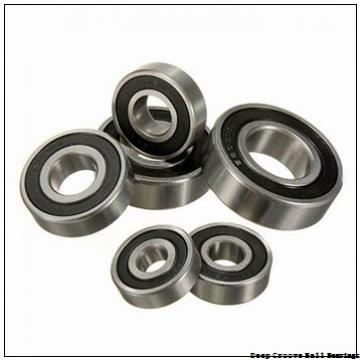 4 mm x 9 mm x 2,5 mm  ISB F684ZZ deep groove ball bearings