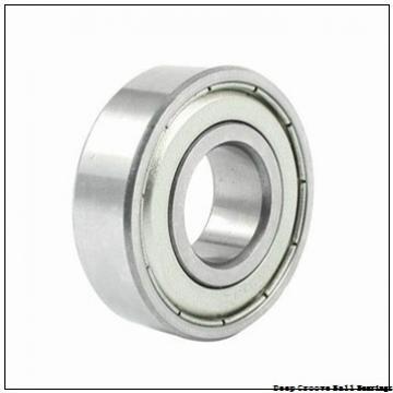 4,762 mm x 17,462 mm x 6,35 mm  ZEN S1601-2Z deep groove ball bearings