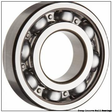 100 mm x 180 mm x 34 mm  NACHI 6220Z deep groove ball bearings