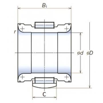 NSK 145RNPH2303 cylindrical roller bearings