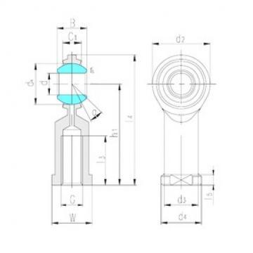 LS SIJ8 plain bearings