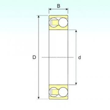 20 mm x 47 mm x 14 mm  ISB 1204 TN9 self aligning ball bearings