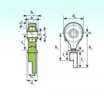ISB TSM 15-00 BB-E self aligning ball bearings