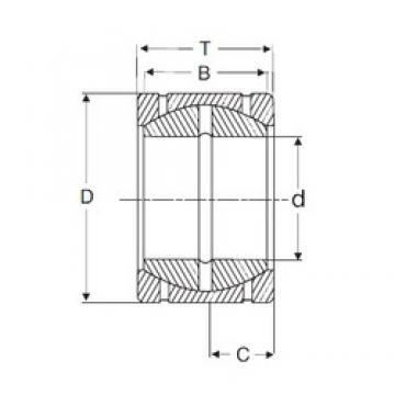 57,15 mm x 100,025 mm x 58,877 mm  SIGMA GEZPR 204 S plain bearings