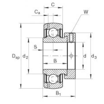 INA GRAE60-NPP-B deep groove ball bearings