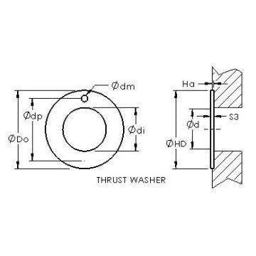 AST ASTEPBW 4266-015 plain bearings