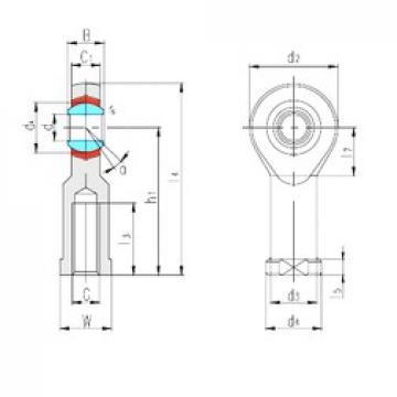 LS SIZP4N plain bearings