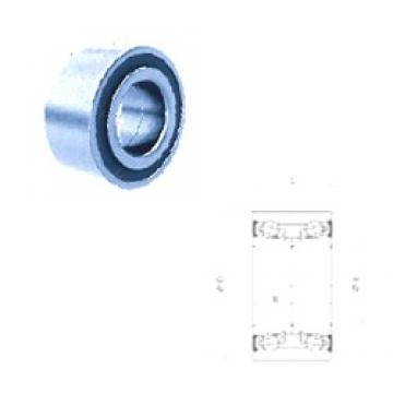 30 mm x 62 mm x 38 mm  PFI PW30620038CS angular contact ball bearings
