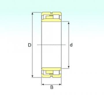 170 mm x 230 mm x 60 mm  ISB NNU 4934 K/SPW33 cylindrical roller bearings