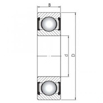 17 mm x 26 mm x 5 mm  ISO 61803 ZZ deep groove ball bearings