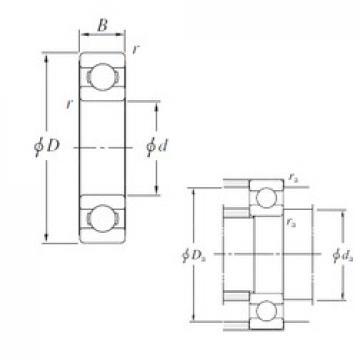 170 mm x 260 mm x 42 mm  KOYO 6034 deep groove ball bearings