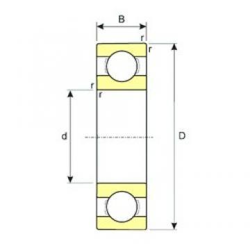 5 mm x 11 mm x 3 mm  ISB SS 618/5 deep groove ball bearings