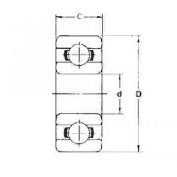 2 mm x 5 mm x 2,3 mm  FBJ 682ZZ deep groove ball bearings