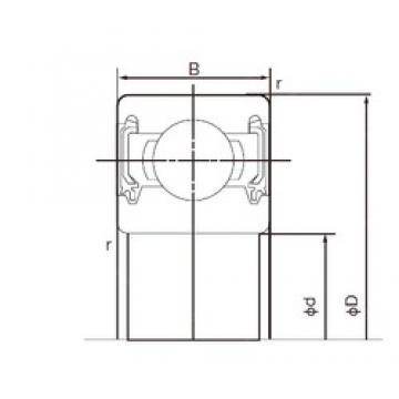 55 mm x 90 mm x 18 mm  NACHI 6011-2NKE deep groove ball bearings