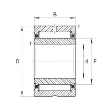 30 mm x 45 mm x 20 mm  INA NKI30/20-TV needle roller bearings