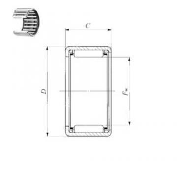 IKO BA 910 Z needle roller bearings