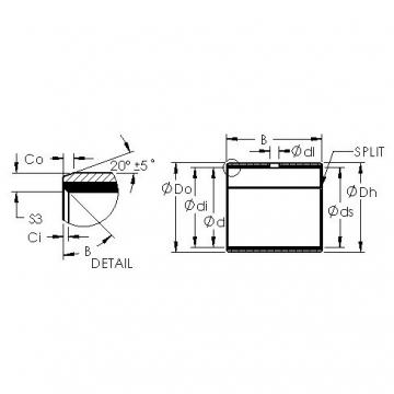 AST AST50 56IB36 plain bearings