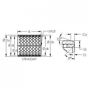 AST AST090 6060 plain bearings