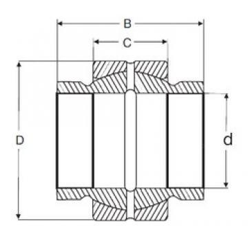 82,55 mm x 130,175 mm x 123,825 mm  SIGMA GEZM 304 ES plain bearings