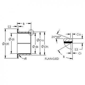 AST AST50 16FIB08 plain bearings
