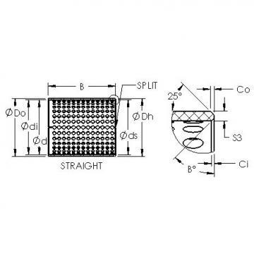 AST ASTT90 28090 plain bearings