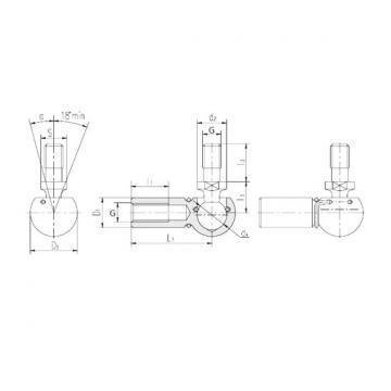LS SQGL8 plain bearings