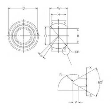 16 mm x 30 mm x 16 mm  NMB MBW16VCR plain bearings