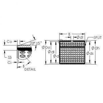 AST AST800 85100 plain bearings